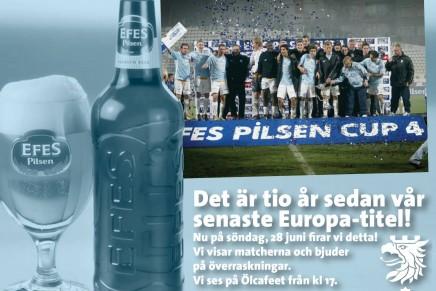 Efes Pilsen Cup – 10 år senare