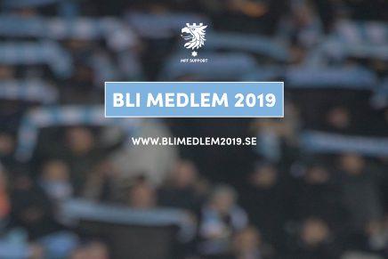 Bli medlem 2019